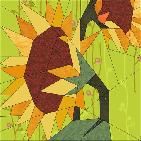 129 best paper piecing images on pinterest paper piecing 478 best images about sunflower quilts on pinterest