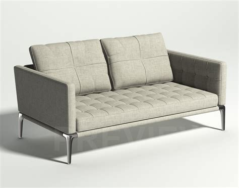 Cassina Sofas by Volage Two Seater Sofa Cassina 3d Model Max Obj Fbx