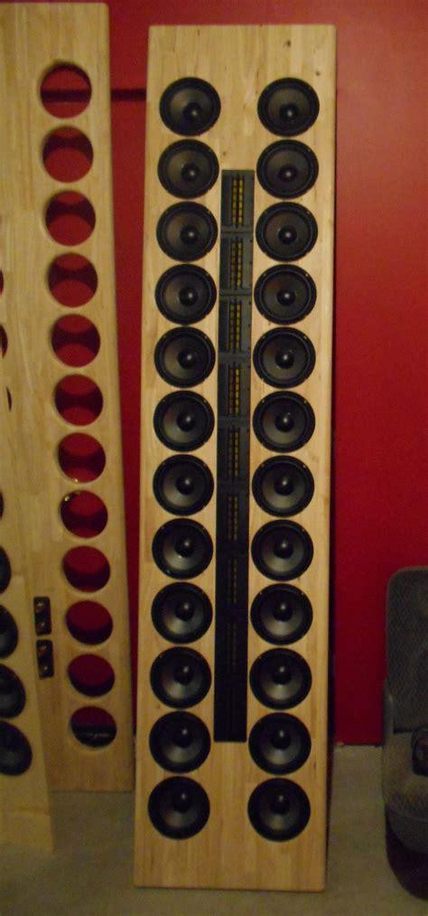 line array speakers diy open baffle line array open baffle line array diy
