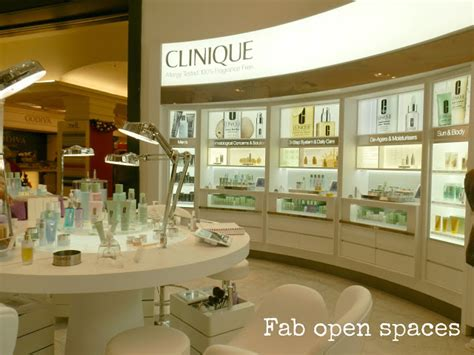 Clinique Counter new clinique in selfridges hayley uk