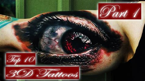 the best tattoos in the world best 3d tattoos top 10 best tattoos in the world part