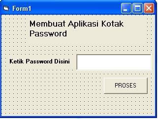 membuat aplikasi virus rojear info blogspot com membuat aplikasi password dengan