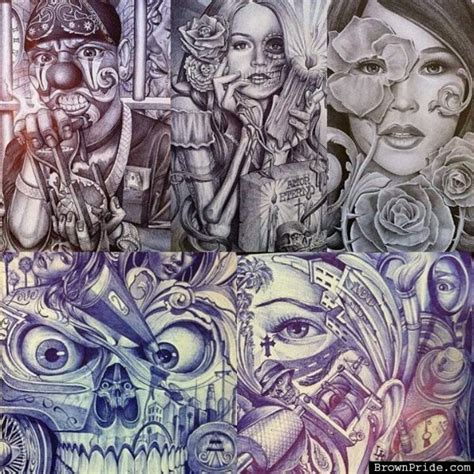 lowrider art tattoos lowrider arte mexican tattoos