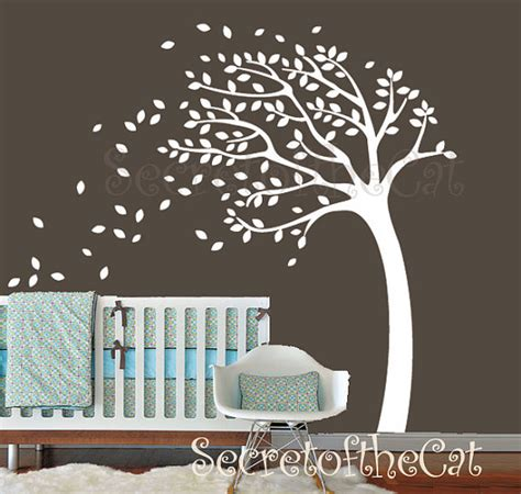 Tree Wall Decals For Nursery Etsy Tree Wall Decal Wall Decals Nursery Tree Decal Baby Tree