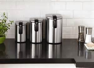 stainless steel canister sets kitchen design ideas for the modern townhouse
