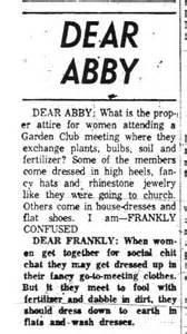 dear abby with a modern gen y career twist