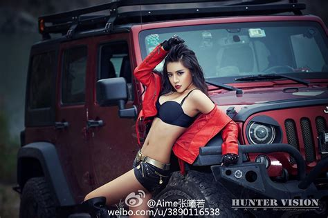 Jeep Wrangler with Chinese Communist Star and Sexy Model Is Weird autoevolution