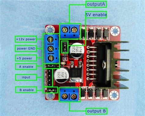 modulo ponte  ln  motor de passo arduino