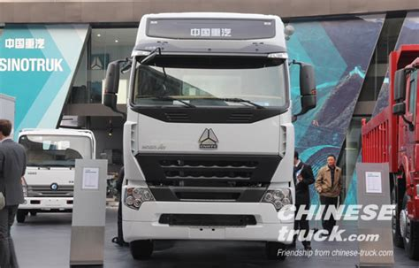 volvo trucks china howo a7 of sinotruk won second place in a foreign truck