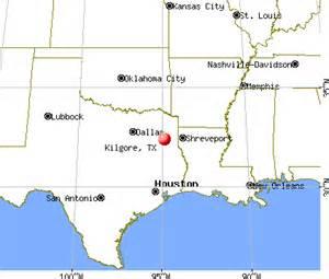 where is kilgore on the map kilgore tx 75662 profile population maps real