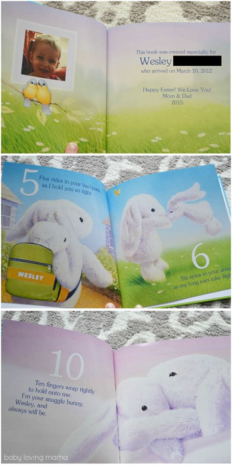 snuggle bunnies books personalized children s books for easter from i see me