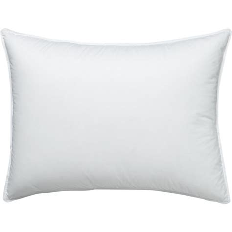 feather standard pillow crate and barrel