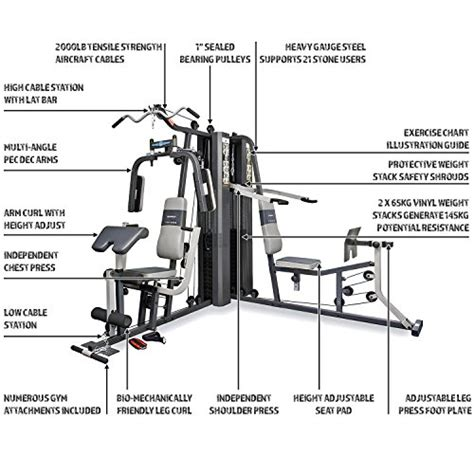 marcy gs99 dual stack home leg press 2 users 2 x