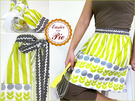 free sewing pattern half apron easy half apron