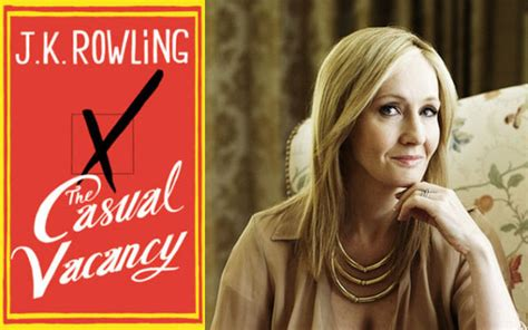 Jk Rowling The Casual Vacancy a review of jk rowling s the casual vacancy s c skillman