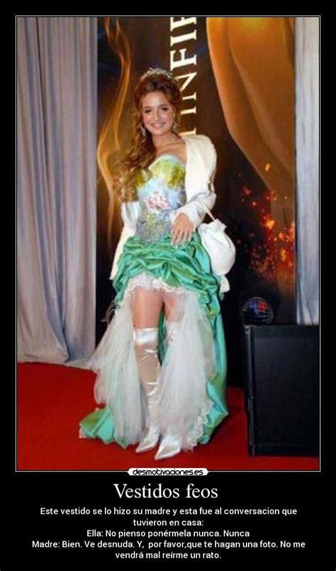 imágenes de vestidos de novia feos vestidos feos desmotivaciones