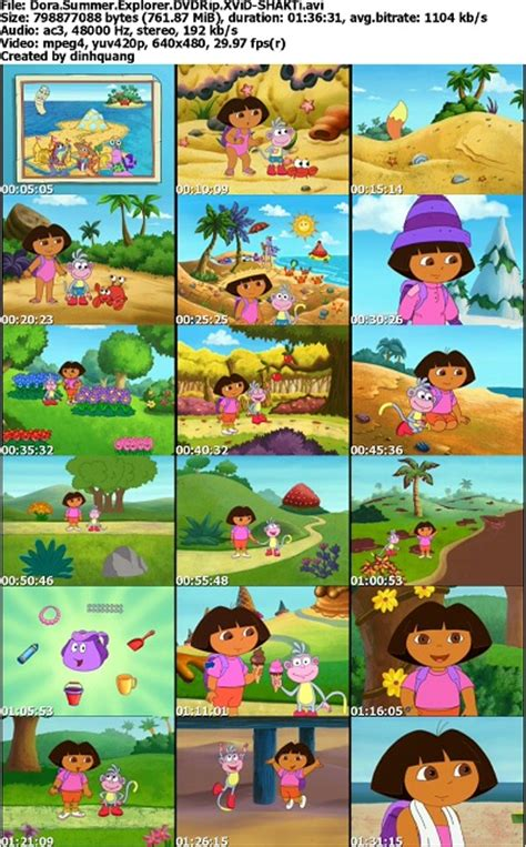 dora the explorer seasons