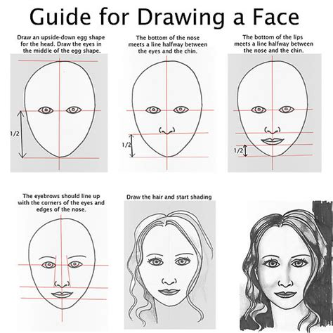 faces how to draw heads features expressions academy two faced portraits with miss griffin