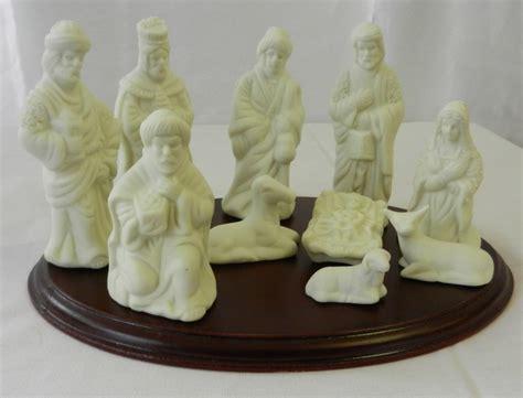 sale nativity set vintage white porcelain