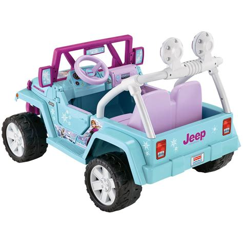 frozen power wheels sleigh fisher price power wheels disney frozen jeep wrangler 12