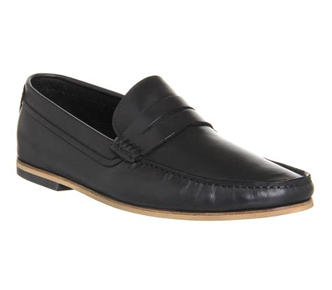 ask the missus loafers ask the missus america loafers black leather smart
