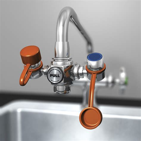 Eye Wash Faucet by Guardian Equipment Eye Wash Faucet Station Faucet 3in
