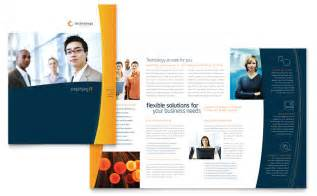 Brochure Template Free Word by Free Brochure Template Word Publisher Microsoft