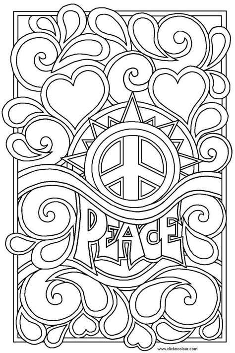 nat love coloring pages heart coloring pages for teenagers peace and love