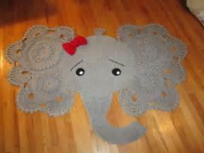 elephant rug for nursery elephant nursery crochet rug