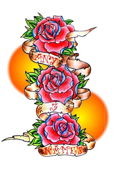rose tattoos designs clipart best
