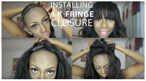how to create fake bang how to make bangs how to make fake bangs hairstyle in 6
