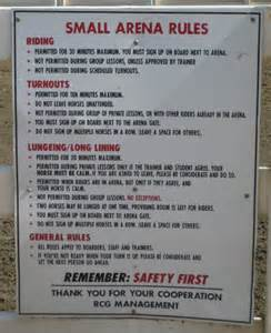 The Barn Equine Palos Verdes Stables Small Arena Rules