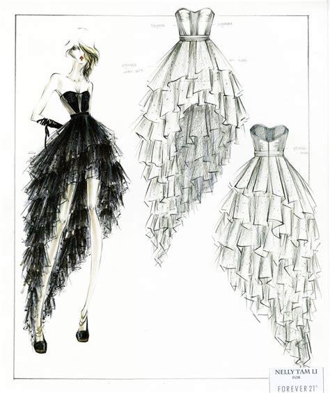 dress pattern layout 41 best sketch a dress images on pinterest designer prom