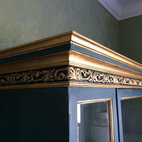 chalk paint gold 17 best images about efex bendable mouldings on