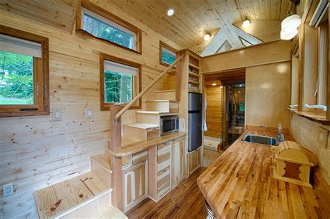 tiny house stair storage interior view furnitureteams