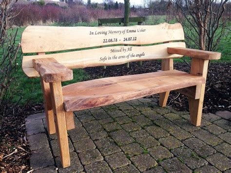 how to get a memorial bench hull s first memorial bench crafts pinterest benches