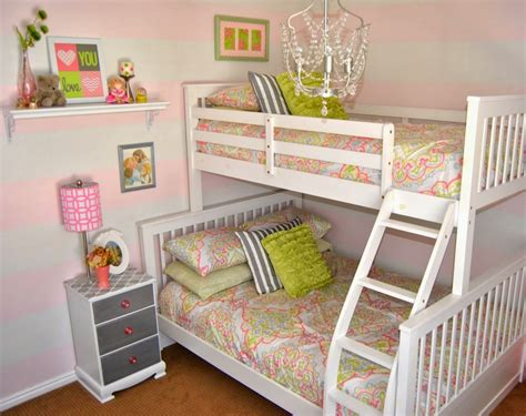 girls bedroom l yellow and green combine furniture for simple minimalist