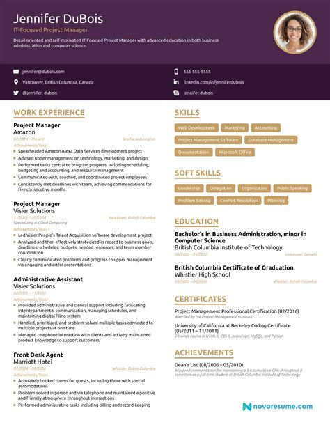 construction project manager resume examples customer service