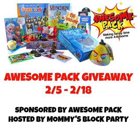 Awesome Giveaways - awesome pack giveaway