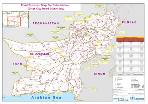 road map from usa to pakistan pakistan road distance map for balochistan inter city