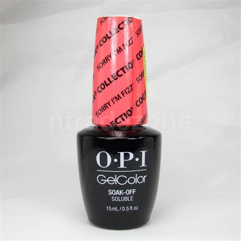 Led Nail L Opi by Opi Gelcolor Soak Uv Led Nail Lacquer 0 5oz