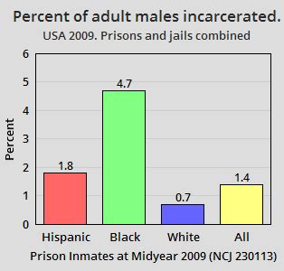What Percent Of The Population Has A Criminal Record Statistics Of Incarcerated American Males