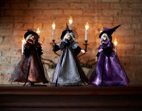 three witches decor fall the spell and fall decor