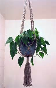 Plant Hanger Macrame - macrame your plants