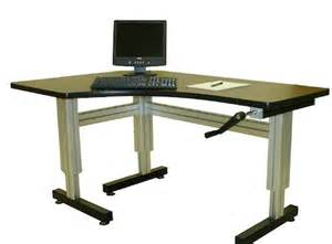 Ergonomic desks
