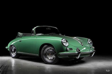 green porsche convertible 1965 porsche 356c cabriolet