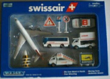 Majorette Airport Tulfly swissair airport playset legoland 687
