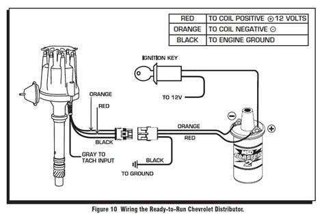 how to wire msd blaster ss coil with 8360 distributor