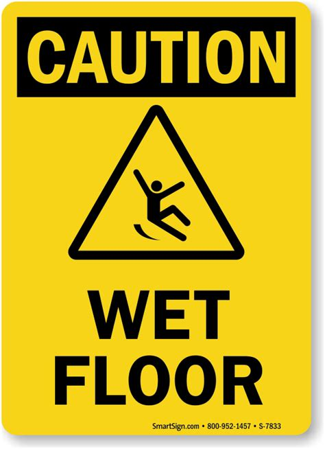 color run sf floor caution sign ships fast and free sku s 7833
