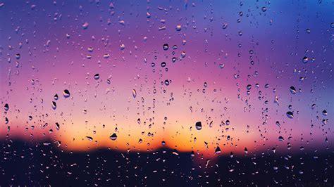 wallpaper rain pink water drop full hd wallpaper and background 1920x1080